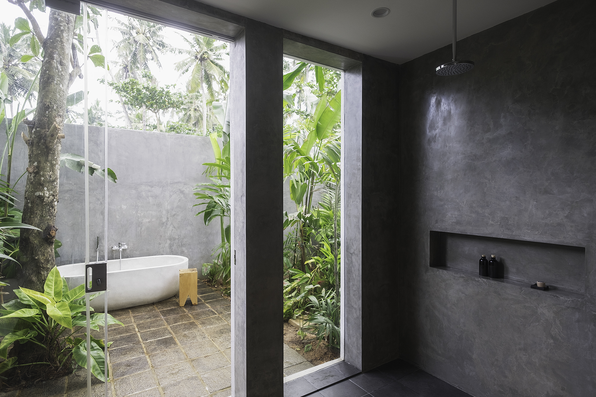 House tour woolamai beach house for Bathroom design in sri lanka