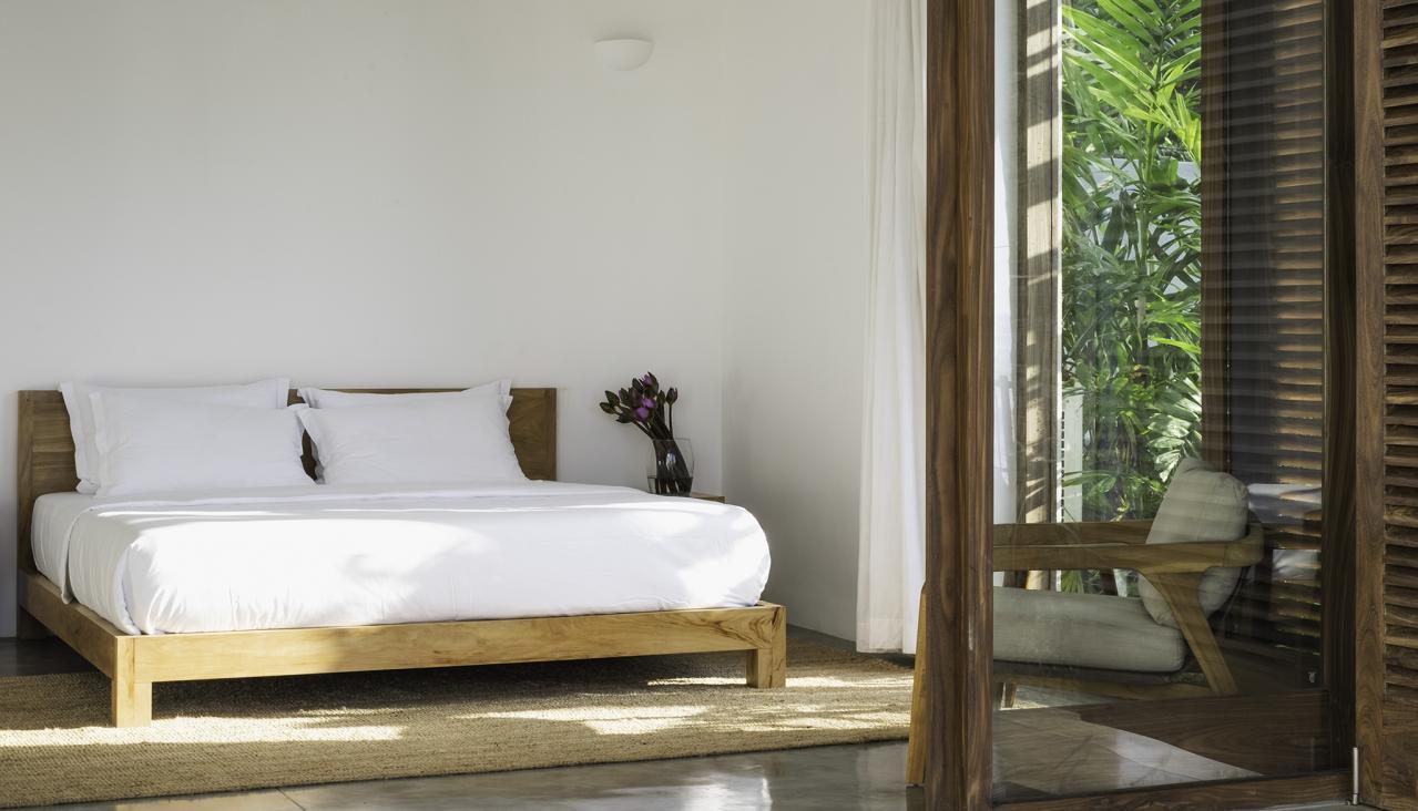 Woolamai Beach House, Thalpe, Sri Lanka - bedroom