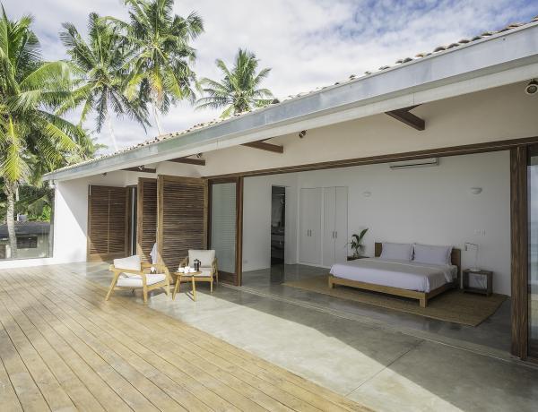 Woolamai Beach House, Thalpe, Sri Lanka -  Deck